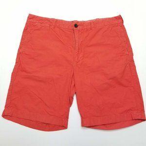 J.Crew Stanton Shorts - Orange - Flat Front